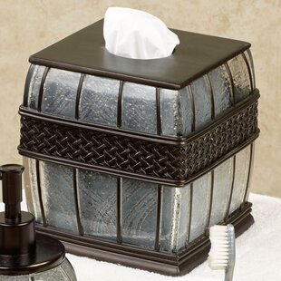 Arsenault Boutique Tissue Box Cover by Astoria Grand