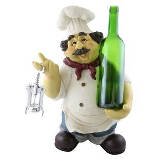 Georgette Large Happy Chef 1 Bottle Table..