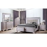 Dunshee Upholstered Platform Configurable Bedroom Set by Rosdorf Park