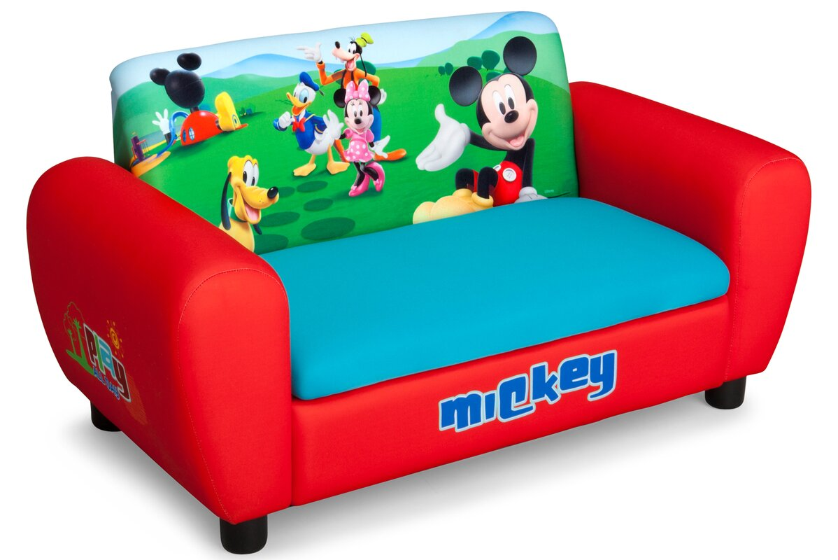 default_name - Delta Children Disney Mickey Mouse Kids Sofa & Reviews Wayfair