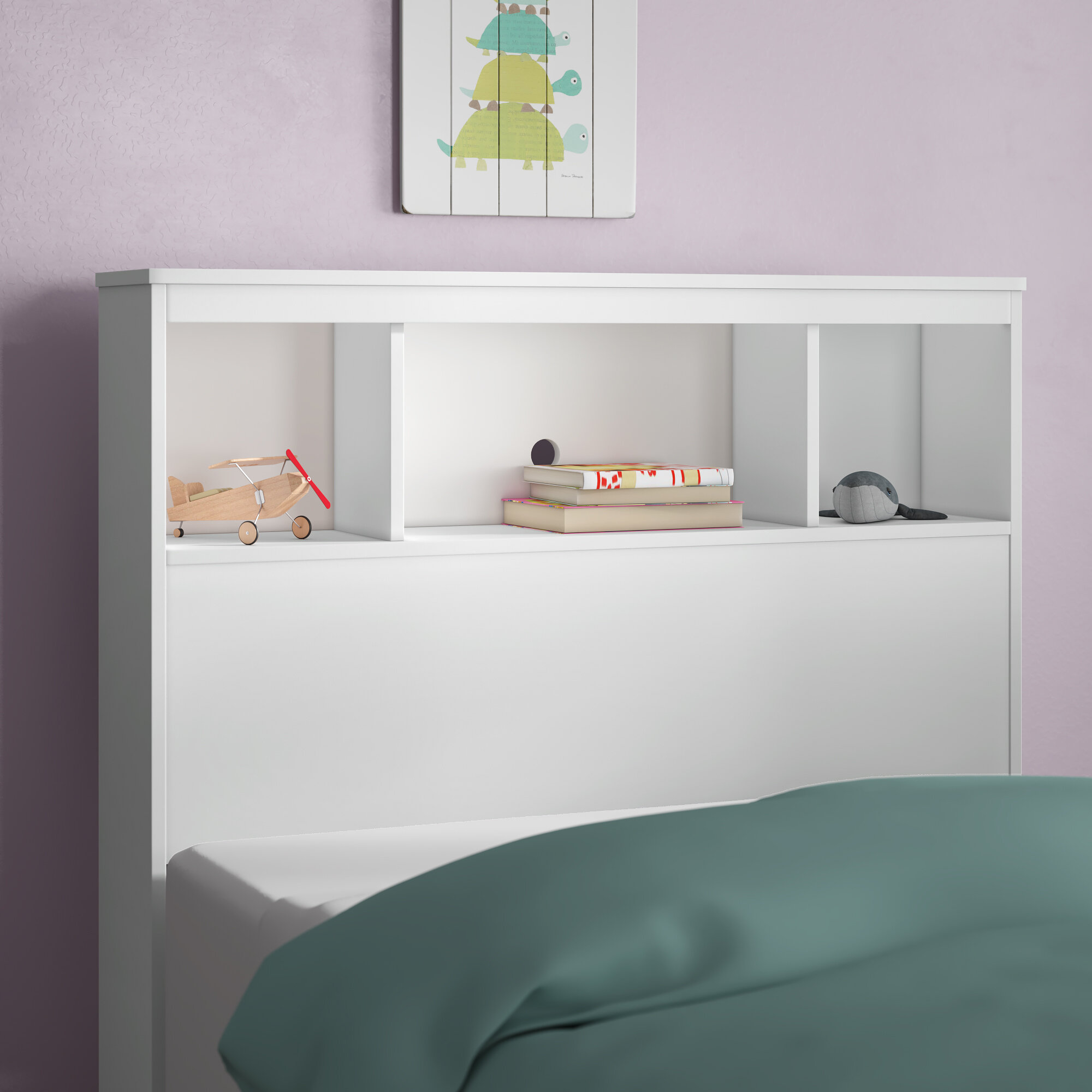 Cremont Twin Bookcase Headboard