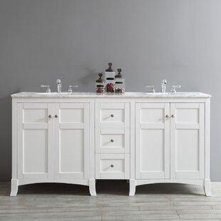 Arezzo 72 Double Bathroom Vanity