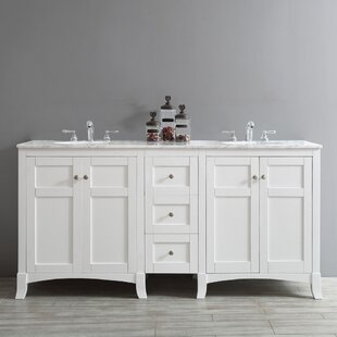 Manningtree 72 Double Bathroom Vanity by Highland Dunes