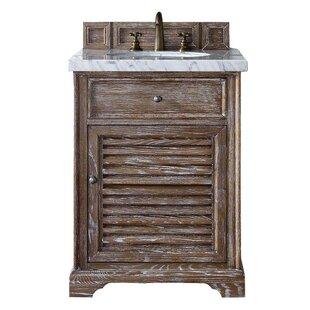 Osmond 26 Single Driftwood Wood Base Bathroom Vanity Set by Greyleigh