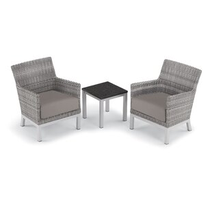 Saint-Pierre 3 Piece Seating Group with Cushions