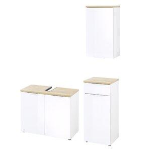 Esquivel 3 Piece Bathroom Storage Furniture Set By Ebern Designs
