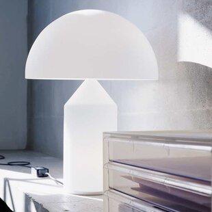 Oluce Atollo Opal Glass Table Lamp