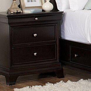 Woodhaven Hill Inglewood 2 Drawer Nightst..