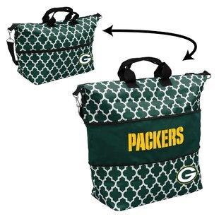 Quatrefoil Expandable Picnic Tote Bag