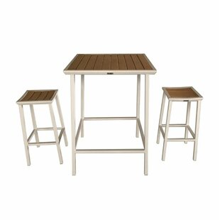 Beecher Outdoor 3 Piece Bar Set