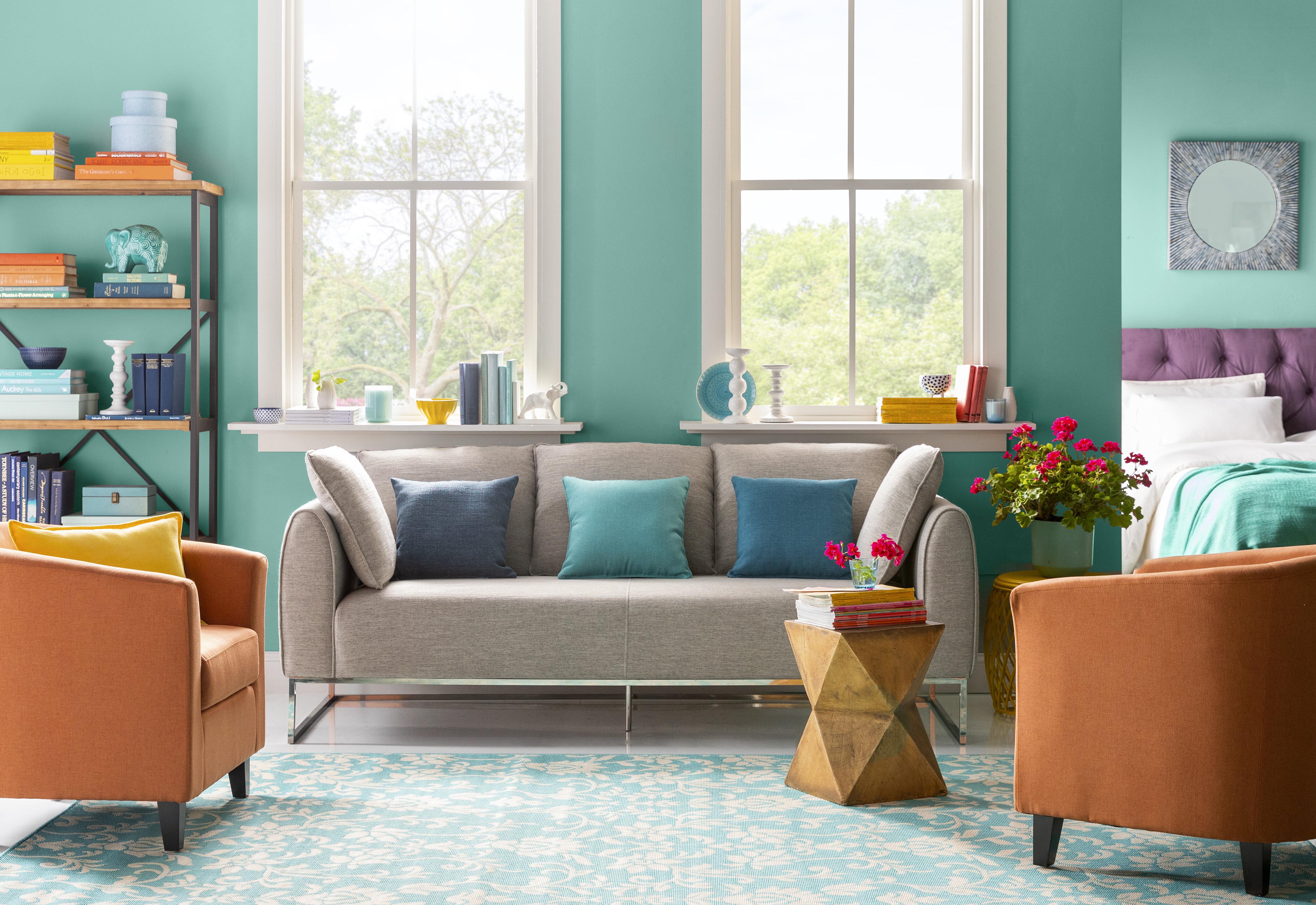 9 Colorful Living Room Ideas Wayfair