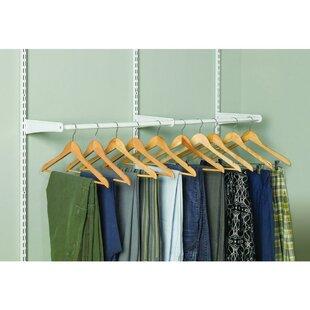 ShelfTrack Adjustable Wardrobe Rail By Closetmaid