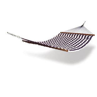 Striped Polyester Tree Hammock by Hammaka