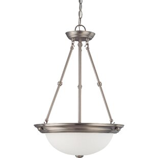 Charlton Home Tindall 3-Light LED Inverted Pendant