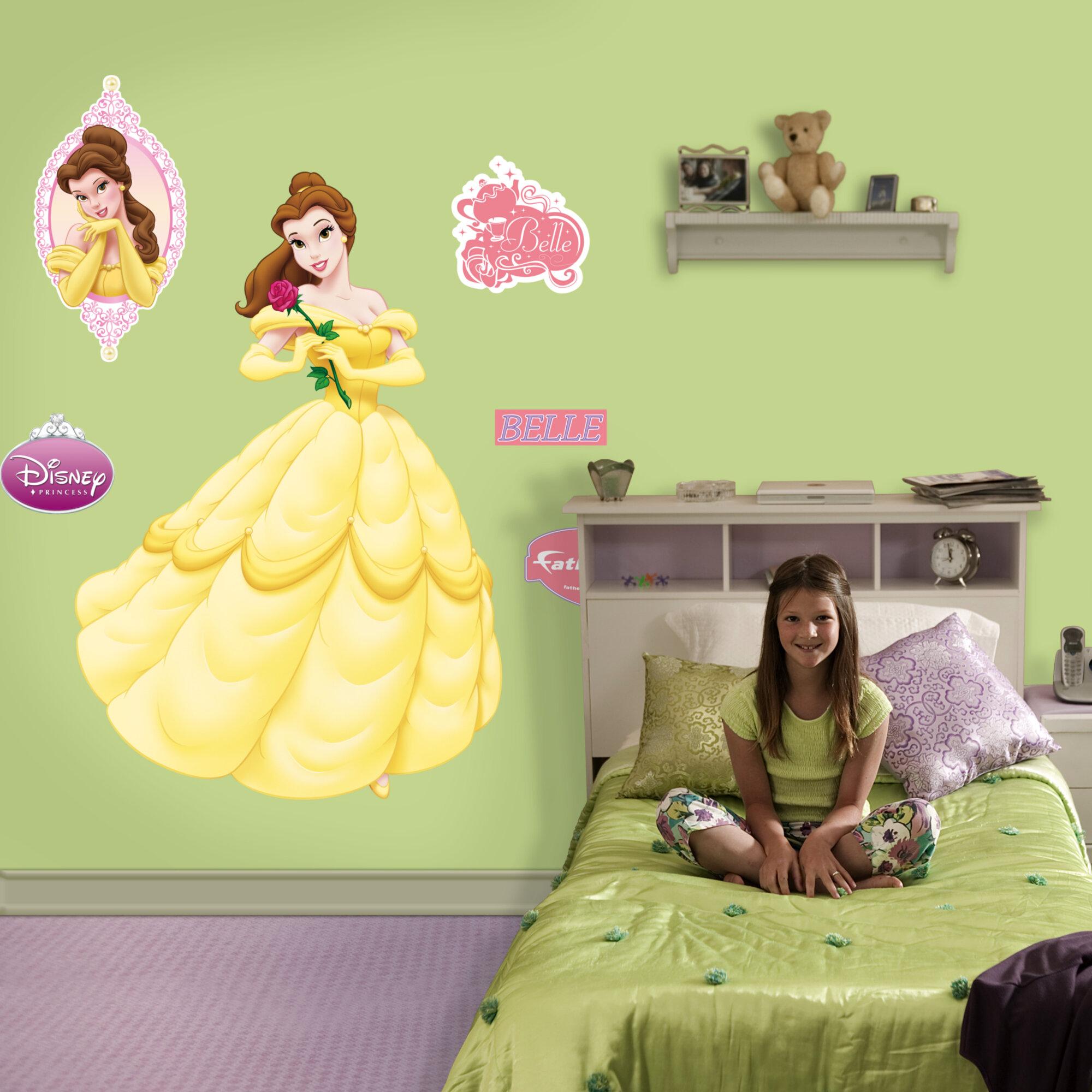 Fathead Disney Belle Wall Decal & Reviews | Wayfair