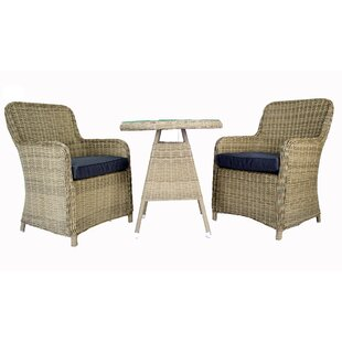 Heldt 3 Piece Bistro Set by Latitude Run