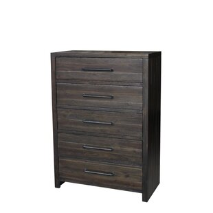 Union Rustic Camilo 5 Drawer Chest