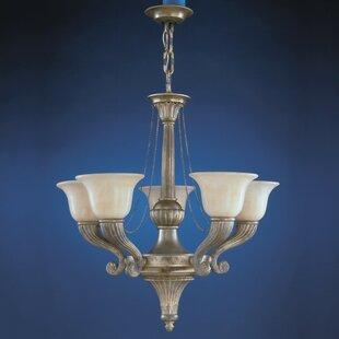 Zanin Lighting Inc. Sevilla 5-Light Shaded Chandelier
