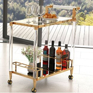 Gillon Bar Cart by Everly Quinn