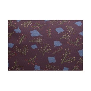 Orchard Lane Purple Indoor/Outdoor Area Rug