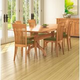 Sarah Butterfly Leaf Cherry Solid Wood Dining Table by Copeland Furniture