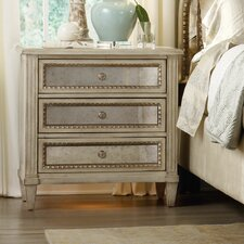 Sanctuary 3 Drawer Bachelor's Chest by Hooker Furniture