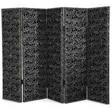 Hollywood Swank 61 x 74 Folding 5 Panel Room Divider by Michael Amini (AICO)