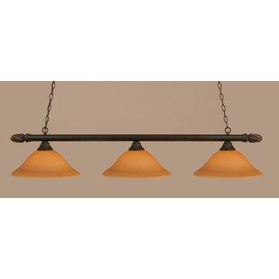 Red Barrel Studio Alessio 3-Light Billiard Light