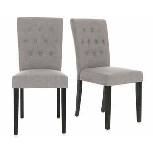 Orobanche Upholstered Dining Chair (Set Of 2) By August Grove