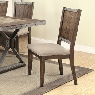 Mcniel Industrial Sylvan Wooden Dining Chair (Set of 2) by Williston Forge