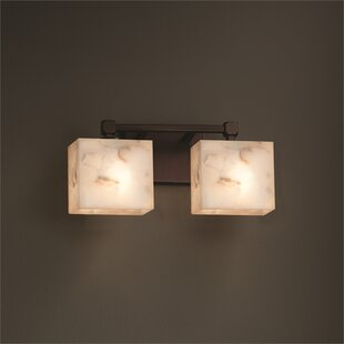 Conovan 2-Light Vanity Light by Rosecliff Heights