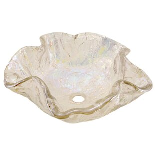 Searching for Alina Art Specialty Glass Specialty Vessel Bathroom Sink By JSG Oceana
