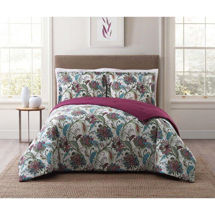 cat for comforter less overseas sets reversible piece coverlet amrapur overstock floral bath bedding set mavia bonus pattern with