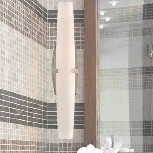Bremer LED 1-Light Bath Bar by Orren Ellis