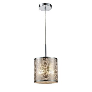 Bay Isle Home Pyla 1-Light Drum Pendant