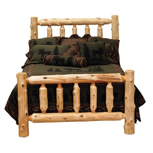 Rustic Log Bed Frame Wayfair