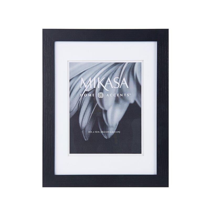 Mikasa Black Wood Picture Frame | Wayfair