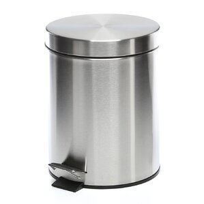 stainless steel 132 gallon step on trash can