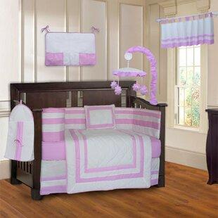 Andelain Modern Quilted 10 Piece Baby Crib Bedding Set ByZoomie Kids