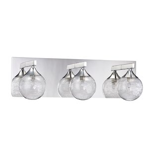 Modern 3 light vanity lighting allmodern chesterton 3 light vanity light mozeypictures Images