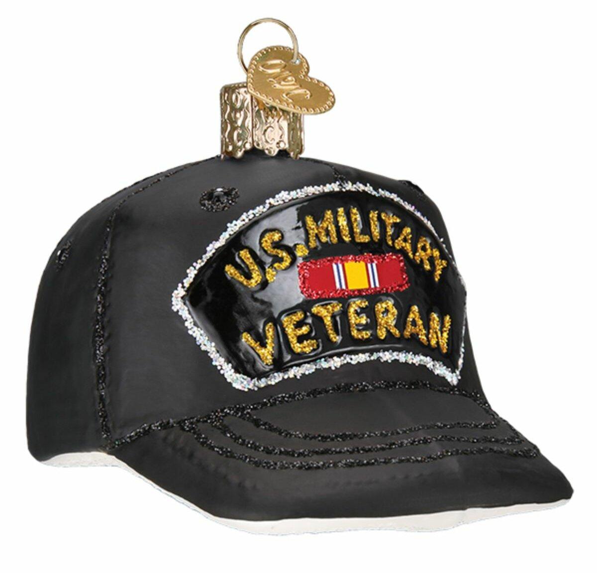 Old World Christmas Veteran S Cap Hanging Figurine Ornament Wayfair