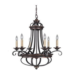 Astoria Grand Westerfield 6-Light Chandel..