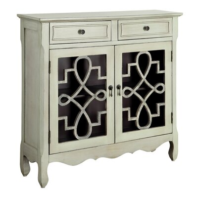 Alborghus Vintage-Style 2 Door Accent Cabinet by Darby Home Co