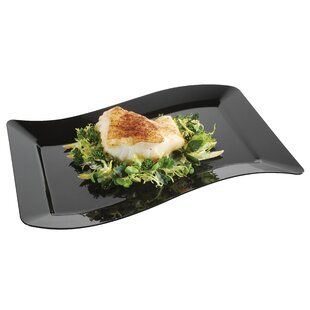 Wavetrends Rectangle Luncheon Plate (Pack of 120)
