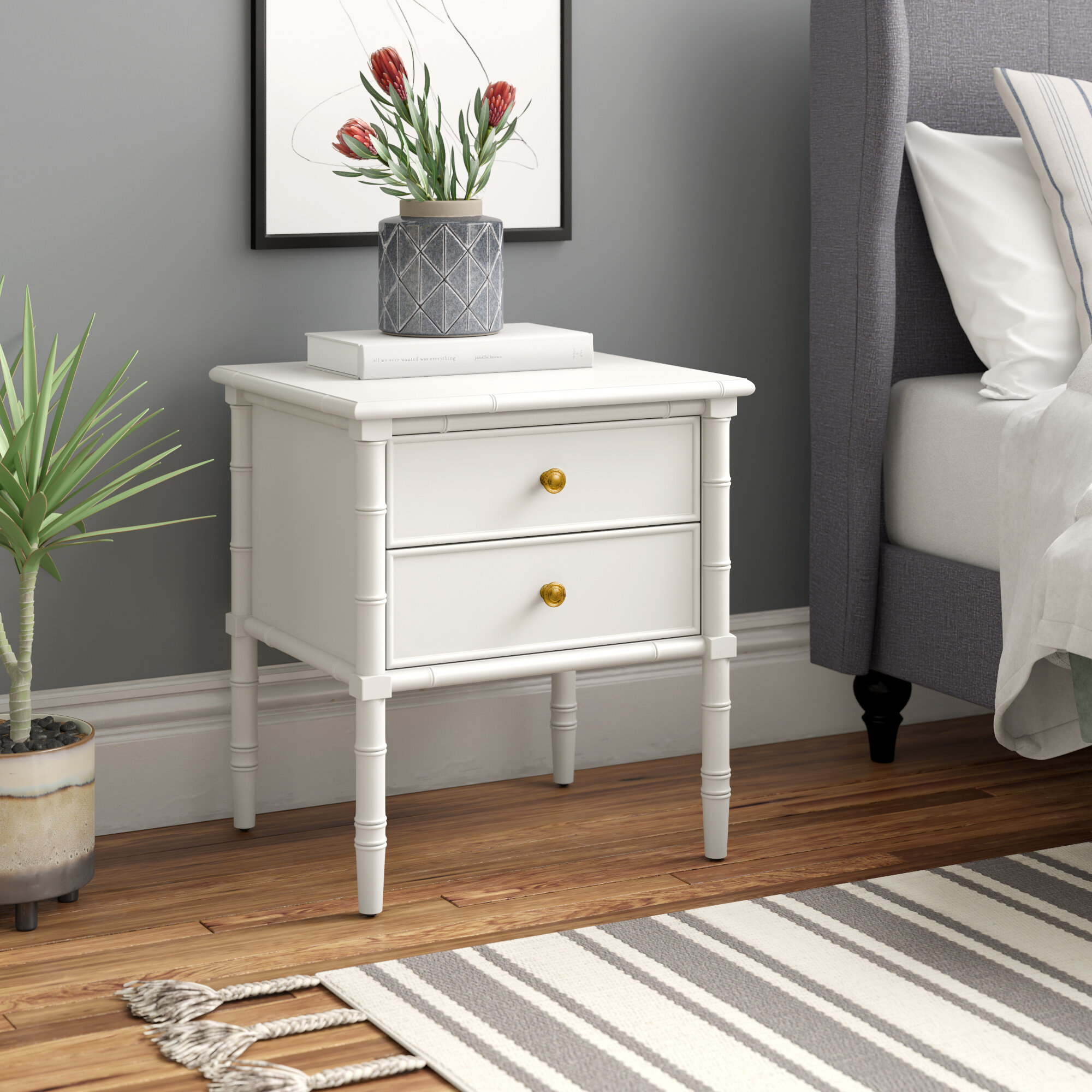 Kristian 2 Drawer Nightstand Reviews Joss Main