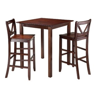 Parkland 3 Piece Pub Table Set Winsome