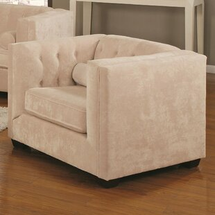 Fremantle Barrel Armchair by Everly Quinn