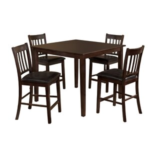 Clarks 5 Piece Counter Height Dining Set