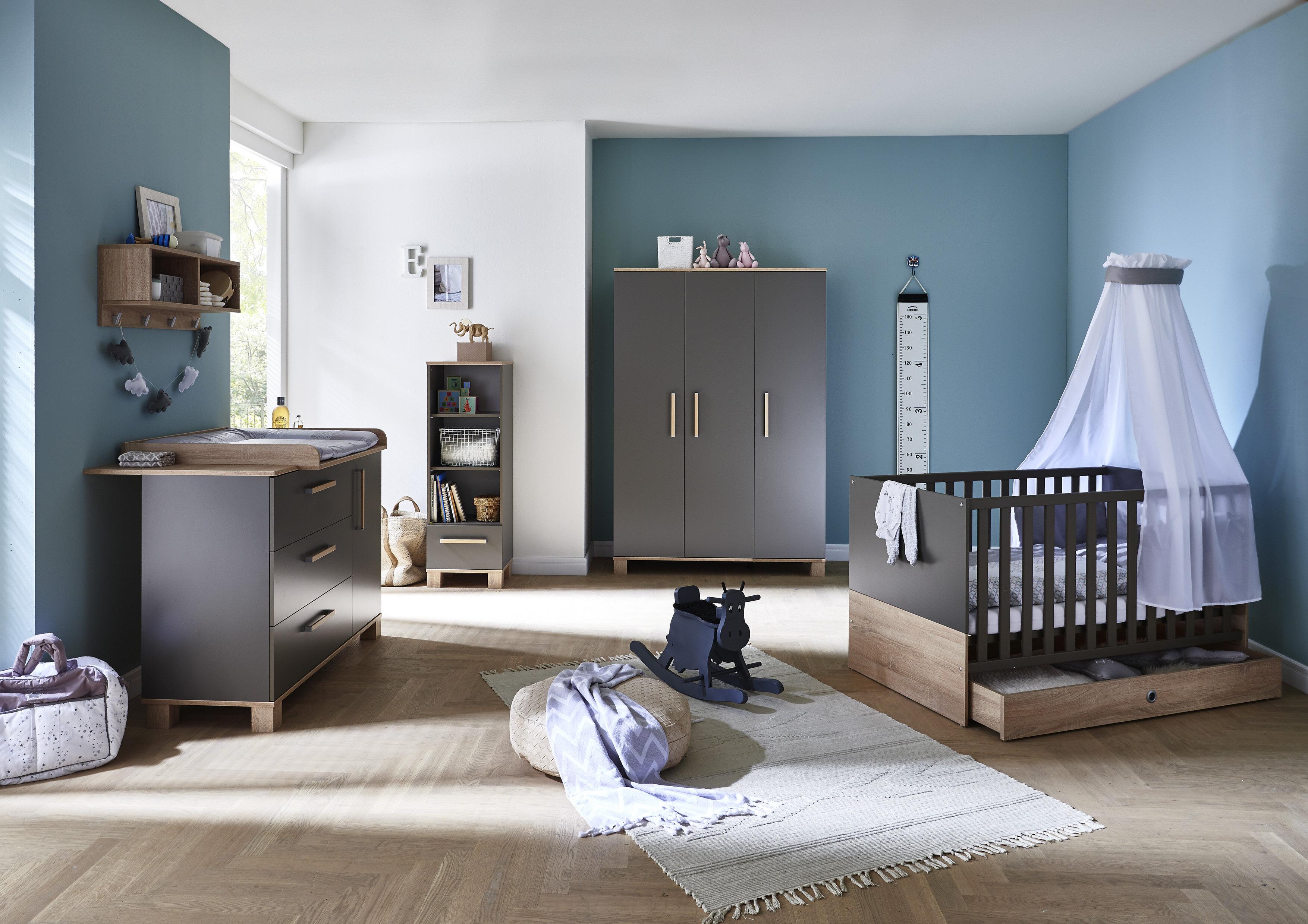 Arthur Berndt Cloe Cot Bed 3 Piece