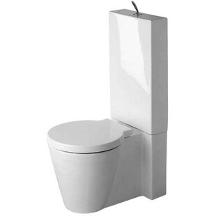 Duravit Starck 1 Dual-Flush Elongated Toi..
